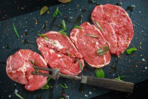Lamb Leg Steaks (2x200g)