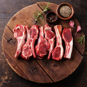 Single Loin Lamb Chops (4x100g)