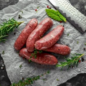 Steak Sausages (Pack of 9) 400g