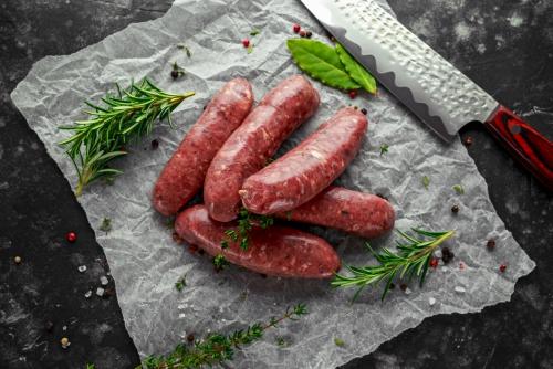 Steak Sausages (Pack of 9) 400g