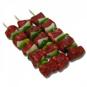 Beef and Veg Kebab 100g