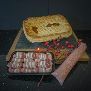 Festive Steak Pie Hamper