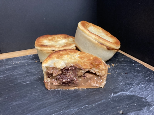 Individual Steak & Black Pud Pie (Pack 3)