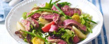 warm Rump Steak Salad