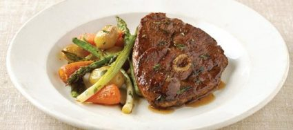 Tarragon and Lemon Lamb with Spring Vegetables