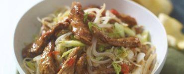 Indonesian Chilli Lamb Noodles